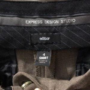 Express Editor Pants Size 4S